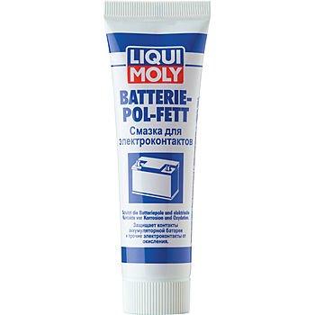 LIQUI MOLY Смазка для электроконтактов Batterie-Pol-Fett (50мл)