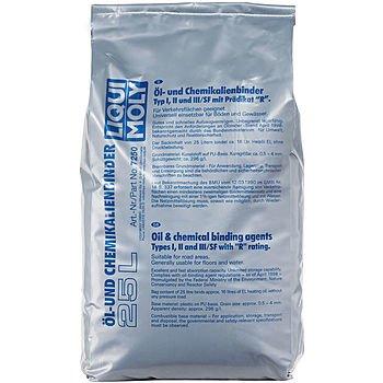 LIQUI MOLY Сорбент для сбора нефтепродуктов Oilbinder pur-granulat (25л)