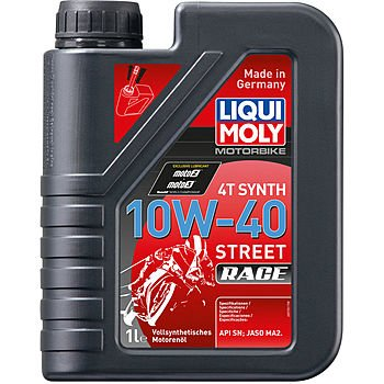 Масло моторное LIQUI MOLY Motorbike 4T Synth Street Race 10W-40 (1л)