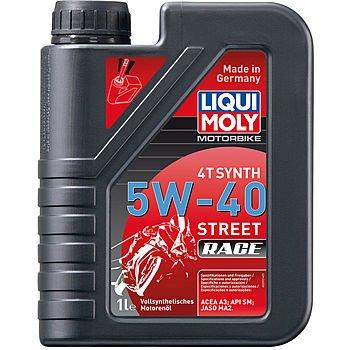 Масло моторное LIQUI MOLY Motorbike 4T Synth Street Race 5W-40 (1л)