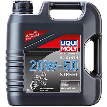 Масло моторное LIQUI MOLY Motorbike 4T HD Synth 20W-50 Street (4л)