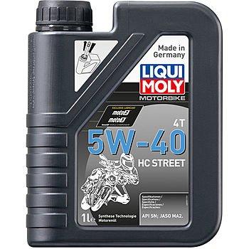 Масло моторное LIQUI MOLY Motorbike 4T 5W-40 HC Street (1л)