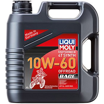 Масло моторное LIQUI MOLY Motorbike 4T Synth 10W-60 Offroad Race (4л)