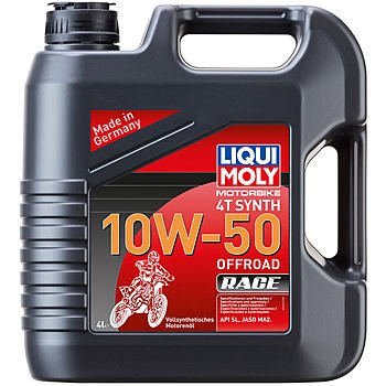 Масло моторное LIQUI MOLY Motorbike 4T Synth 10W-50 Offroad Race (4л)
