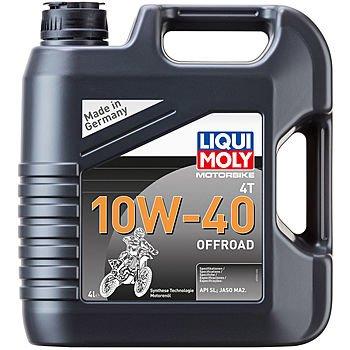 Масло моторное LIQUI MOLY Motorbike 4T 10W-40 Offroad (4л)