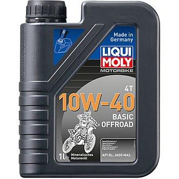 Масло моторное LIQUI MOLY Motorbike 4T 10W-40 Basic Offroad (1л)