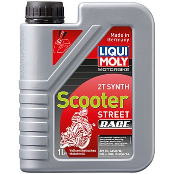 Масло моторное LIQUI MOLY Motorbike 2T Synth Scooter Street Race (1л)