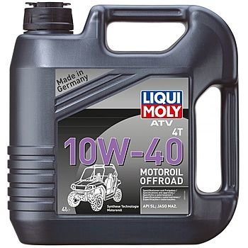 Масло моторное LIQUI MOLY ATV 4T Motoroil  10W-40 (4л)
