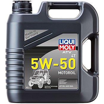 Масло моторное LIQUI MOLY ATV 4T Motoroil  5W-50 (4л)
