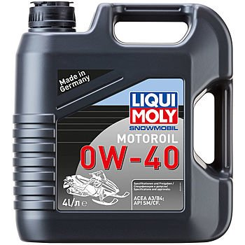 Масло моторное LIQUI MOLY Snowmobil Motoroil 0W-40 (4л)