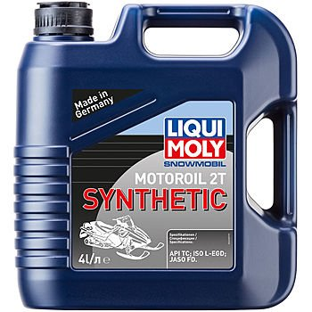 Масло моторное LIQUI MOLY Snowmobil Motoroil 2T Synthetic (4л)