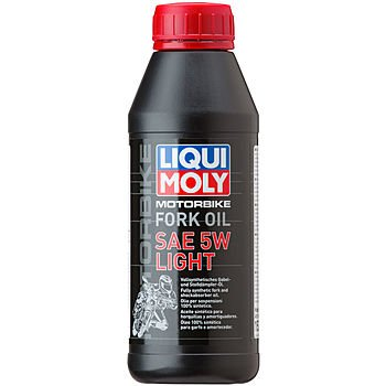 Масло для вилок и амортизаторов LIQUI MOLY Motorbike Fork Oil Light 5W (0,5л)