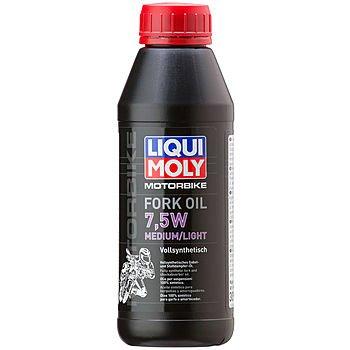 Масло для вилок и амортизаторов LIQUI MOLY Motorbike Fork Oil Medium/Light 7,5W (0,5л)