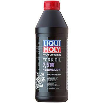 Масло для вилок и амортизаторов LIQUI MOLY Motorbike Fork Oil Medium/Light 7,5W (1л)