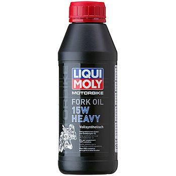 Масло для вилок и амортизаторов LIQUI MOLY Motorbike Fork Oil Heavy 15W (0,5л)