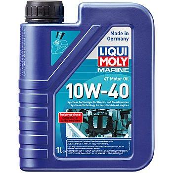 Масло моторное LIQUI MOLY Marine 4T Motor Oil 10W-40 (1л)