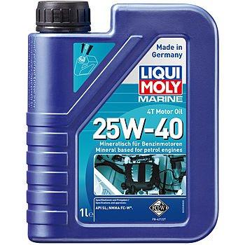 Масло моторное LIQUI MOLY Marine 4T Motor Oil 25W-40 (1л)