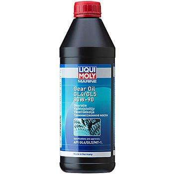 Масло трансмиссионное LIQUI MOLY Marine Gear Oil 80W-90 (1л)