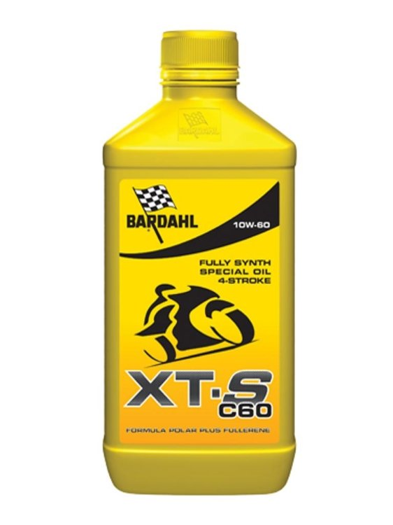 Масло моторное BARDAHL XT-S MOTO 10W-60 (1л)