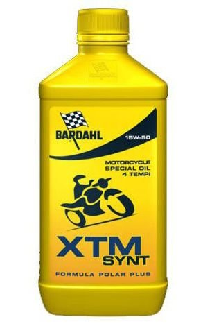 Масло моторное BARDAHL XTM SYNTHETIC MOTO 4T 15W-50 (1л)