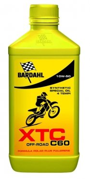 Масло моторное BARDAHL XTC C60 OFF ROAD 4T 10W-50 (1л)