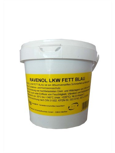 RAVENOL Смазка LKW Fett Blau (1кг)