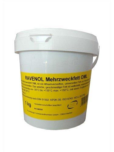 RAVENOL Смазка Mehrzweckfett OML (1кг)