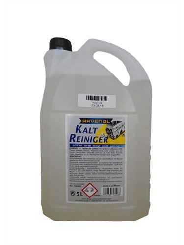 RAVENOL Средство для мойки с щелочью Kaltreiniger loesemittelfrei (5л)