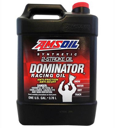 Масло моторное AMSOIL DOMINATOR® Synthetic 2-Stroke Racing Oil (3,78л)