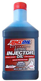 Масло моторное AMSOIL Synthetic 2-Stroke Injector Oil (0,946л)