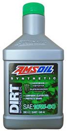 AMSOIL Масло мотоциклетное Synthetic Dirt Bike Oil SAE 10W-60 (0,946л)
