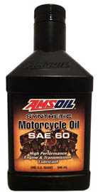 AMSOIL Масло мотоциклетное Synthetic Motorcycle Oil SAE 60 (0,946л)