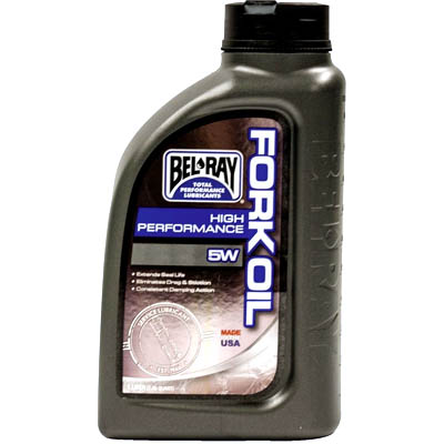 BEL-RAY Масло вилочное High Performance Fork Oil 5W (1л)