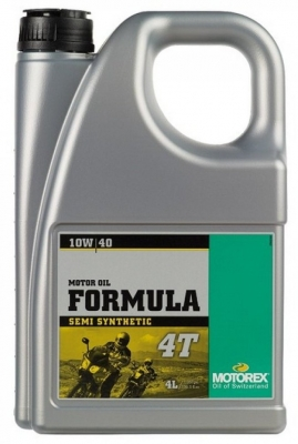 MOTOREX Масло моторное полусинтетическое FORMULA 4T SAE 10W-40 (4л)