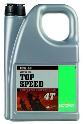 MOTOREX Масло моторное синтетическое Top Speed 4Т SAE 10W-40 (4л)