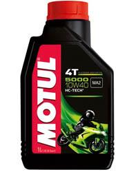 Motul Масло моторное полусинтетическое 5000 HC-Tech 4T 10W-40 (1л)