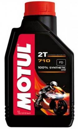 Масло моторное Motul 710 2Т (1л)