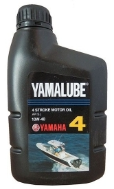 Масло моторное YAMAHA YAMALUBE 4 Stroke Motor Oil SAE 10W-40 (1л)