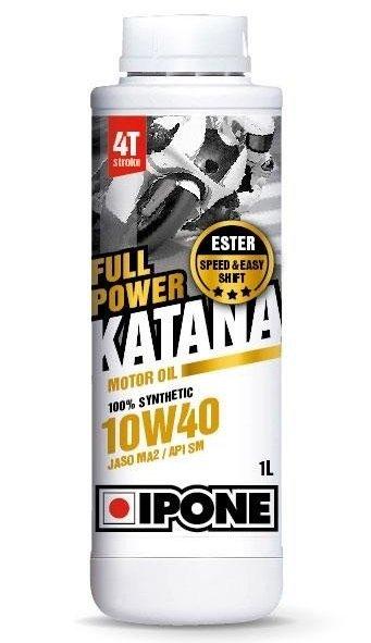 Масло моторное IPONE FULL POWER KATANA 10W-40 Ester SN MA2 (1л)