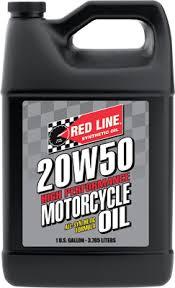 Моторное масло для 4-х тактных двигателей REDLINE OIL 20W-50 (3,8л)