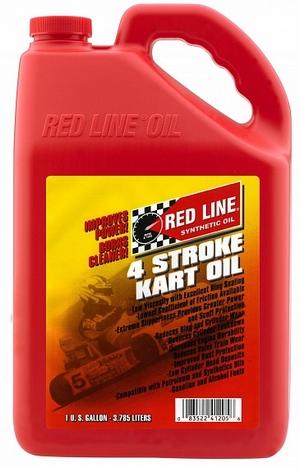 Моторное масло для 4-х тактных картингов REDLINE OIL 4-Stroke Kart Oil 5W-20 (3,8л)
