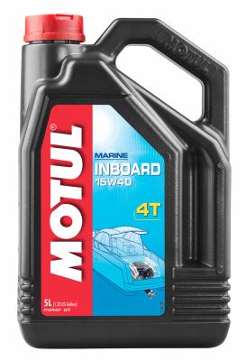 Моторное масло Motul INBOARD 4T 15W-40, 5л
