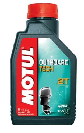 Моторное масло Motul OUTBOARD TECH 2T, 1л