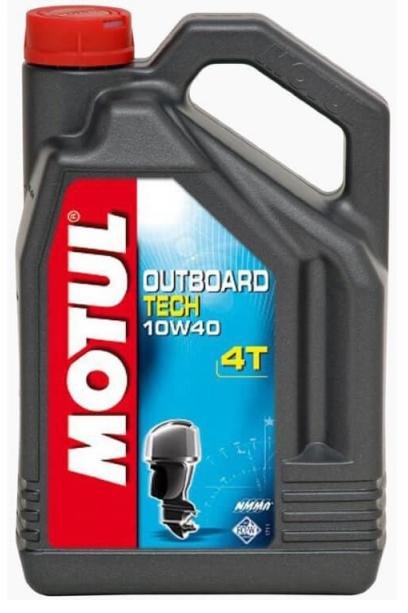 Моторное масло Motul OUTBOARD TECH 4T 10W-40, 5л
