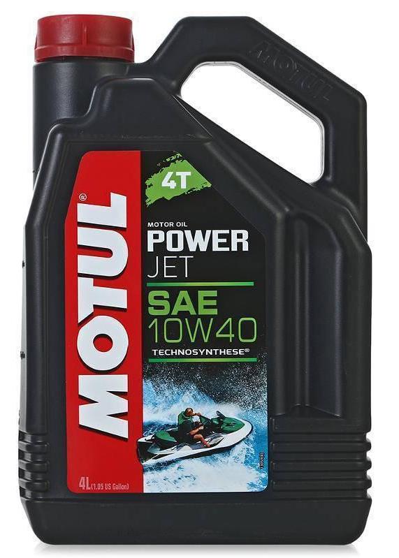 Моторное масло Motul POWERJET 4T 10W-40, 4л