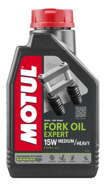 Масло вилочное Motul FORK OIL EXPERT M/H 15W, 1л