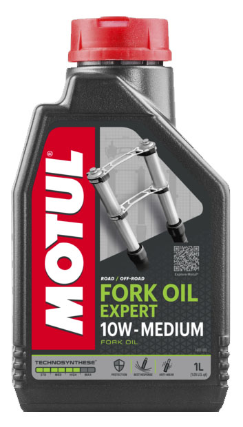 Масло вилочное Motul FORK OIL EXPERT MEDIUM 10W, 1л
