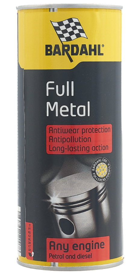 Присадка BARDAHL FULL METAL with collector metal box (400мл)