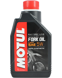 Масло вилочное Motul Fork Oil light Factory Line 5W (1л)