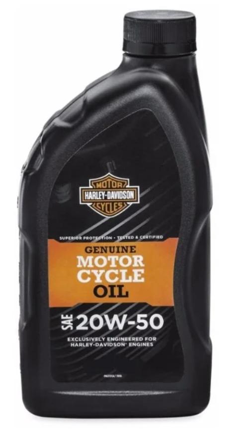 Масло моторное Harley Davidson 20W-50, 1л
